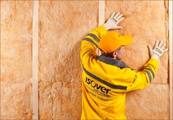 утепление стены деревянного дома