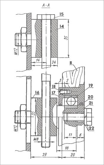 механизм натяжения ленты ленточного станка