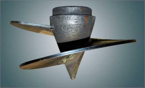 наконечник с винтовой частью для винтовых свай