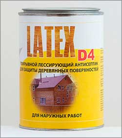 антисептик latex D4