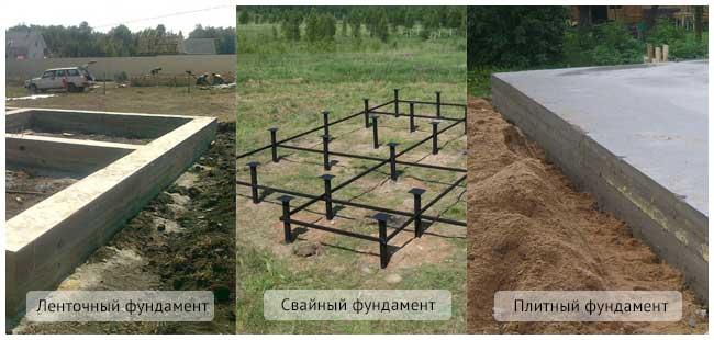 видф фундаментов для финского дома