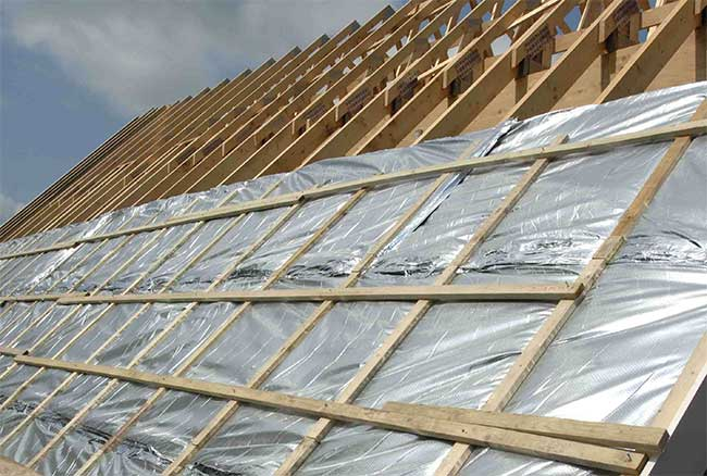гидроизоляция крыши каркасного гаража