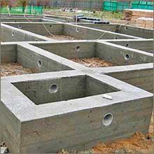 строим ленточный фундамент своими руками