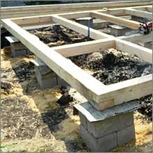 строим столбчатый фундамент своими руками