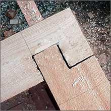 способы соединения бруса при строительстве