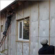 утепляем деревянный дом своими руками